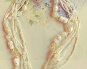 Vintage Japan Glass Necklace