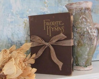 Old songbooks. old hymns, rare songbooks, piano room music room, collectible books church song books hymnals