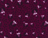 Pre-Sale- Thistle in Cerise Rayon- Flower Shop by Alexia Abegg for Cotton + Steel