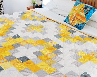 Sunshine Medallion Quilt by Wisecraft Free Shipping in the US