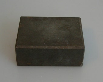 STEEL STAMPING BLOCK Metal Design Stamp Stamping Supplies for Personalized Jewelry