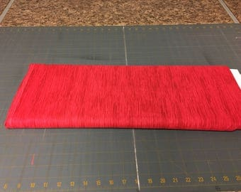 no. 15 Red colorwave Fabric by the yard