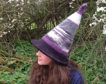 Felted Witch Hat