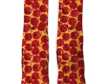 Custom Pizza SS Athletic Socks