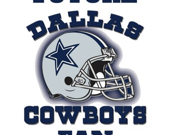 Future Cowboys Fan inspired Iron On for Kids Infants