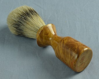 Yellow Box Shaving Brush, 20mm