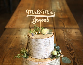 wedding cakes with names names wood cake topper wedding cake topper 26060