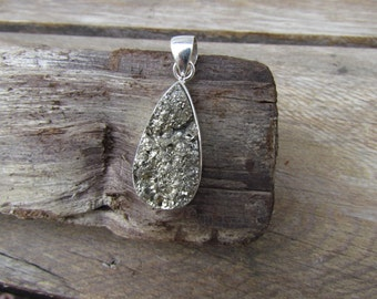 Pyrite Sterling Silver Pendant