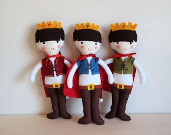 Rag doll: Medieval Prince