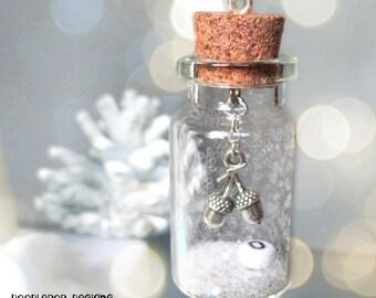 Acorn Christmas tree ornament - Personalised rustic Christmas decor - Acorn decoration - Woodland ornament - Winter Wonderland - Etsy UK