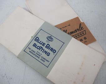 Vintage Ink Blotter Papers Blank Blotter Paper