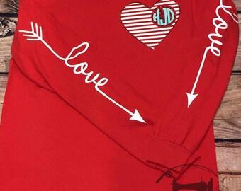 Valentine's Day WOMENS vinyl SHIRT