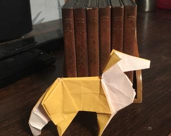 Origami Collie