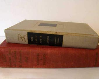 Chief Modern Poets of England and America 1947, The Latin Poets by Godolphin 1949, vintage poetry books