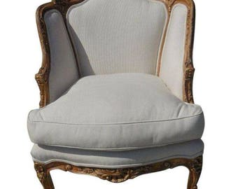 Antique French Regency-Style Bergère