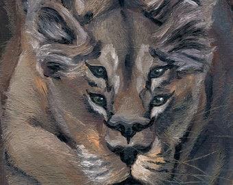 Lioness (Print)