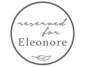 Custom order for Eleonore