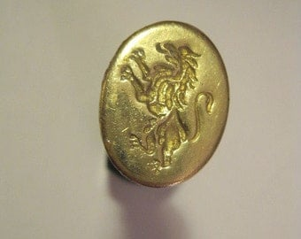 Lion Rampant Sealing Wax Seal