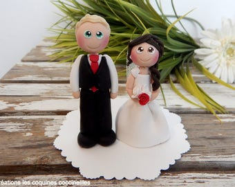 Married (wedding cake topper) wedding cake figurines