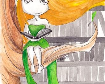 Ana Dess in Elve - Illustration