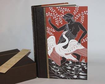 Greek Myths by Robert Graves, Folio Society 1996, illustrator Grahame Baker, hardback with slipcase