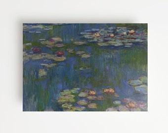 Claude Monet's Water Lillies (1916) Giclée Print