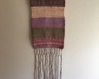 Small striped wall hanging