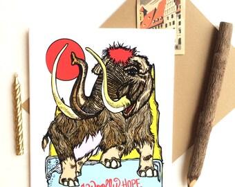 Woolly Birthday Greeting Card