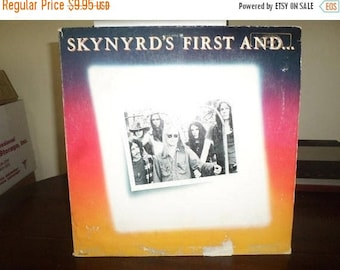 Save 30% Today Vintage 1978 LP Record Lynyrd Skynyrd First and Last MCA Records Excellent Condition 7501