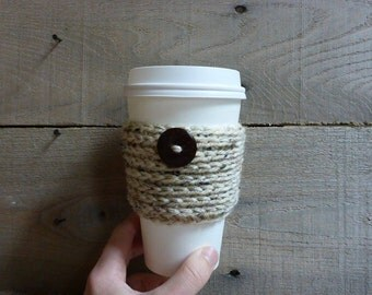 Button Cup Cozy