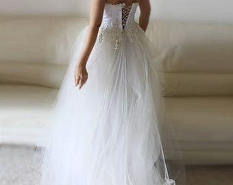 princess wedding dress, ready to ship, tulle wedding dress, strapless wedding dress, bridal gown, corset wedding dress, lace wedding dress