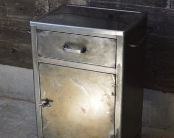 Industrial Reclaimed Medical Cabinet  ****Local Pickup Only***