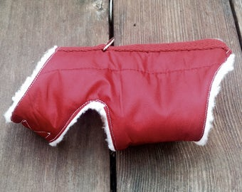 Red Dog Winter Coat Harness