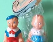 Combex squeaky dolls (pair)