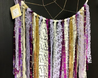 Lavender Bloom Dream Catcher