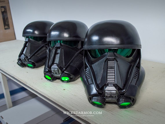 death trooper helmet kit inspired by rogue one a by. Black Bedroom Furniture Sets. Home Design Ideas