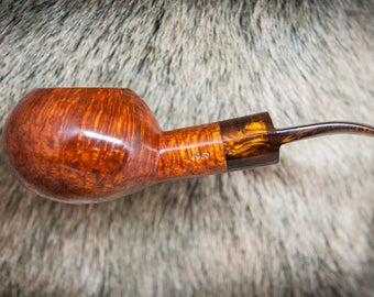 Paul's Tomato briar tobacco pipe