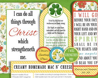 March 2017 Printable Visiting Teaching Message and Handouts, INSTANT DOWNLOAD, The Enabling Power of Jesus Christ and His Atonement
