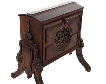 19th century Salesmen Sample -miniature folding Music Stand-Rare