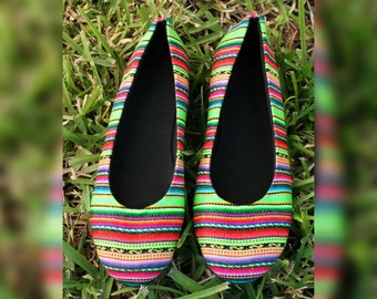 Boho Chic Flats / Ballet Flats Shoes - Full of color!!!!