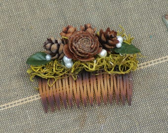 Wedding Hair Comb, Bridal Hair Comb, Bridesmaid, Flower Girl Hair Comb
