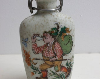 Vintage German whiskey flask