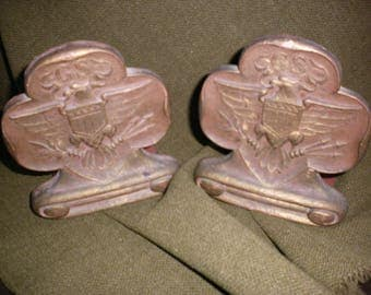 Girl Scout Bookends