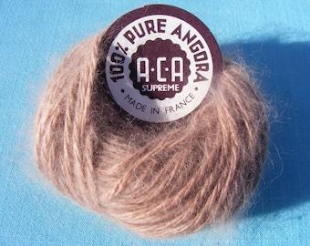 Angora Yarn -mocha (10 gram)