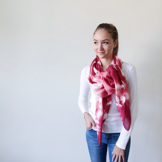 Red Scarves-Red Scarf-Long Scarf-Long Scarves-Wrap Scarf-Summer Cover Up-Sarong-Long Summer Scarf-Light Weight Scarf-Gift For My