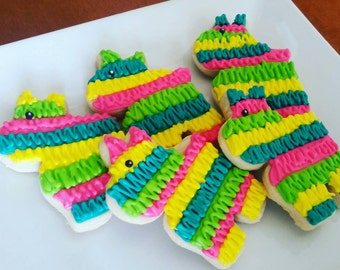 Piñata Cookies (one dozen)