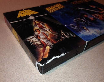 Star Wars TRILOGY VHS Empire Strikes Back Return Of The Jedi Fox Darth Vader