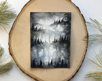 Black Forest - Original Watercolor Painting