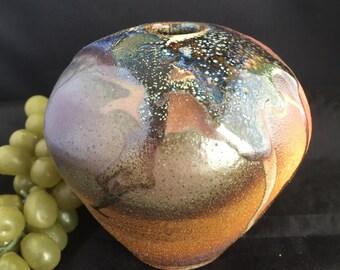 E027  Clay handmade vase