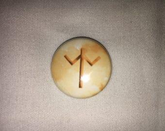 "Stardew Valley Yoba ( single 1"" pinback button/magnet )"